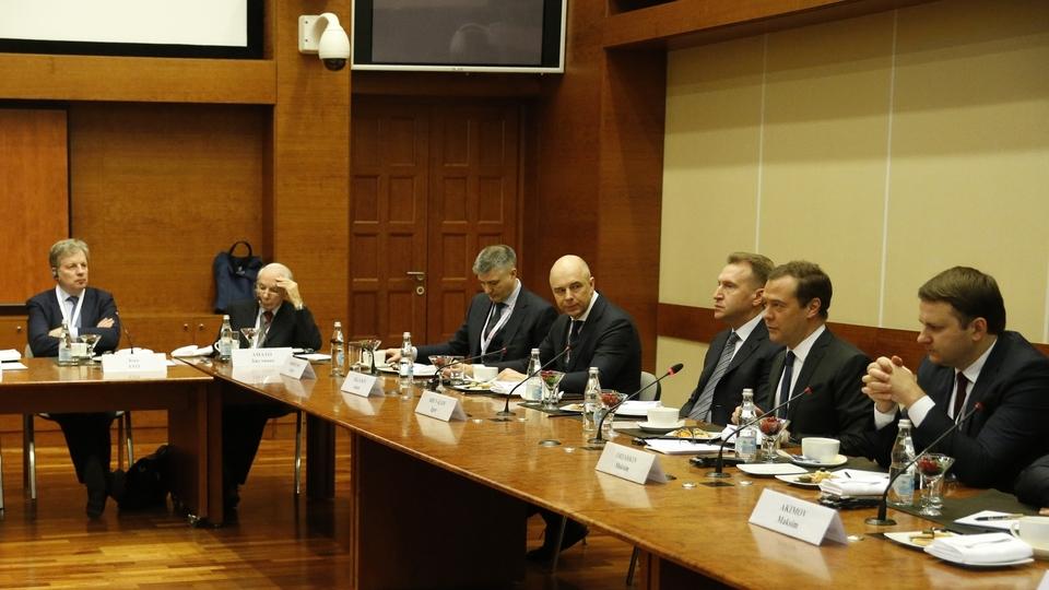 Встреча с экспертами IX Гайдаровского форума