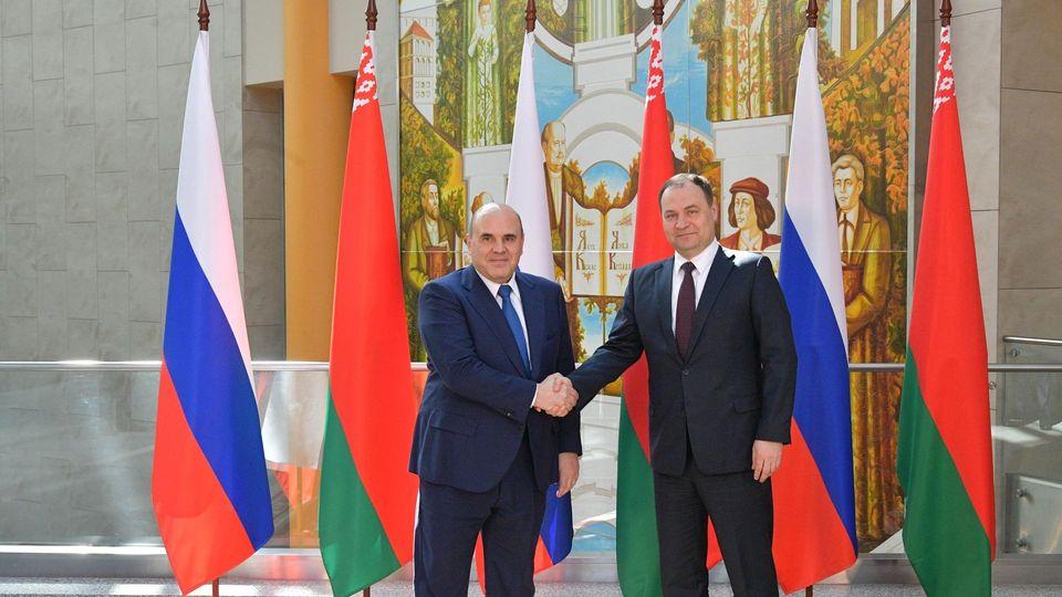 C Премьер-министром Республики Беларусь Романом Головченко