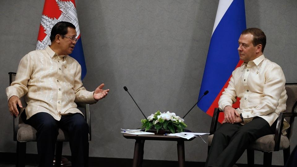 Встреча с Премьер-министром Королевства Камбоджа Хун Сеном