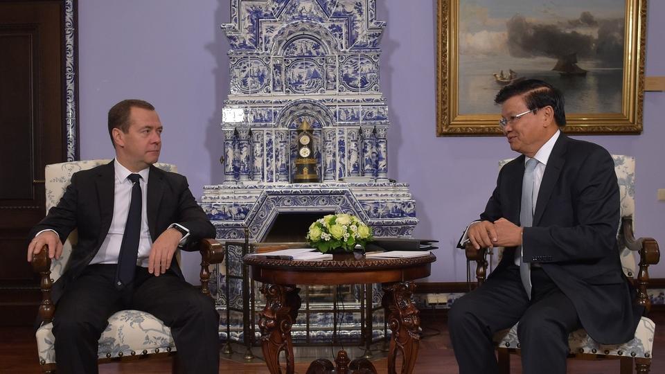 Беседа с Премьер-министром Лаоса Тхонглуном Сисулитом