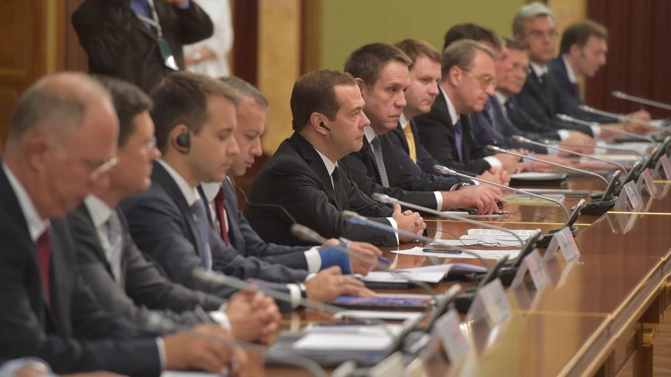 Беседа Дмитрия Медведева с Королём Саудовской Аравии Сальманом бен Абдель Азизом Аль Саудом