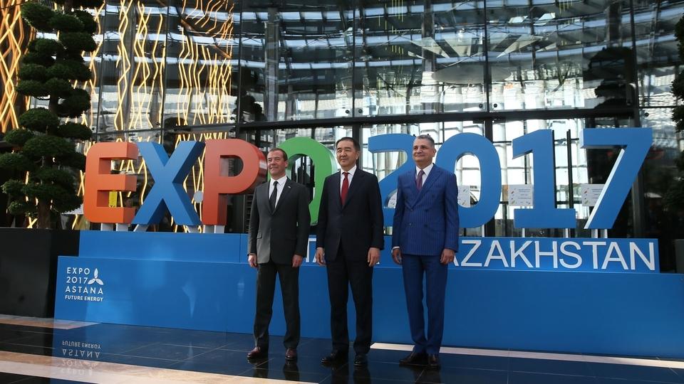 Посещение Международной специализированной выставки «ЭКСПО-2017»