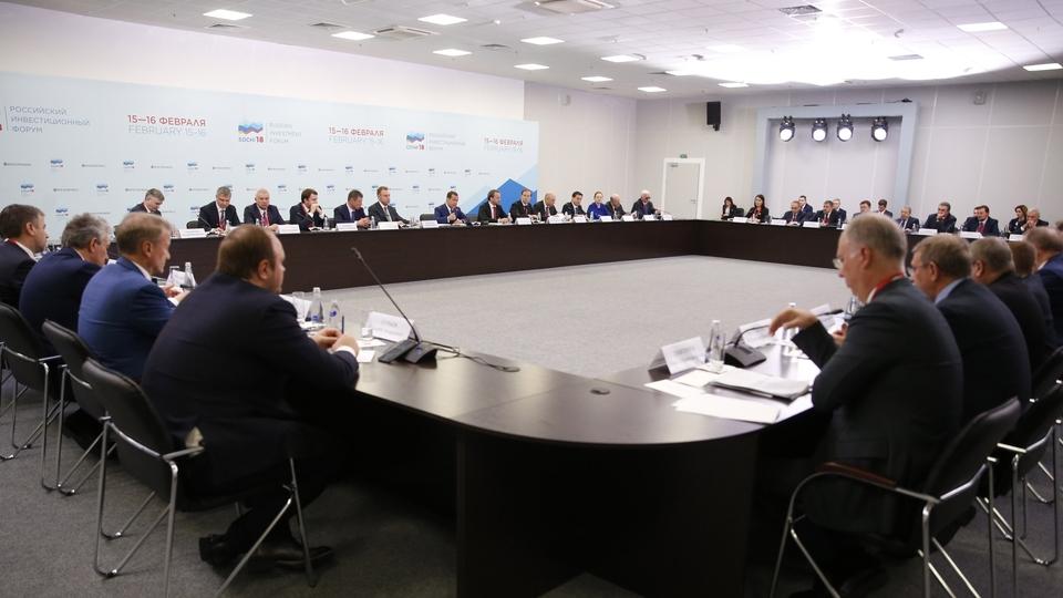 Встреча Дмитрия Медведева с представителями деловых кругов