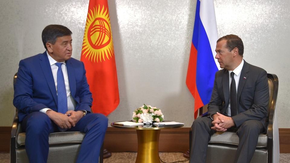 Беседа с Премьер-министром Киргизской Республики Сооронбаем Жээнбековым