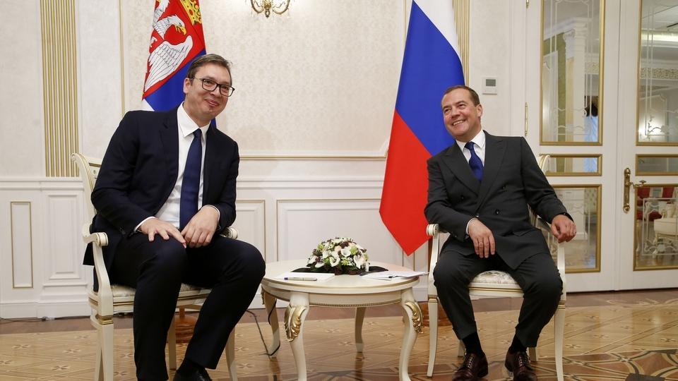 Встреча с Президентом Республики Сербия Александром Вучичем