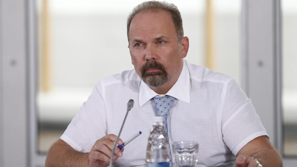Доклад Михаила Меня на совещании о сохранении, предотвращении загрязнения и рациональном использовании реки Волги