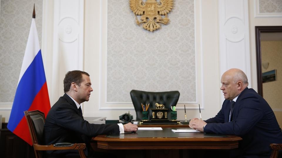 Встреча с губернатором Омской области Виктором Назаровым