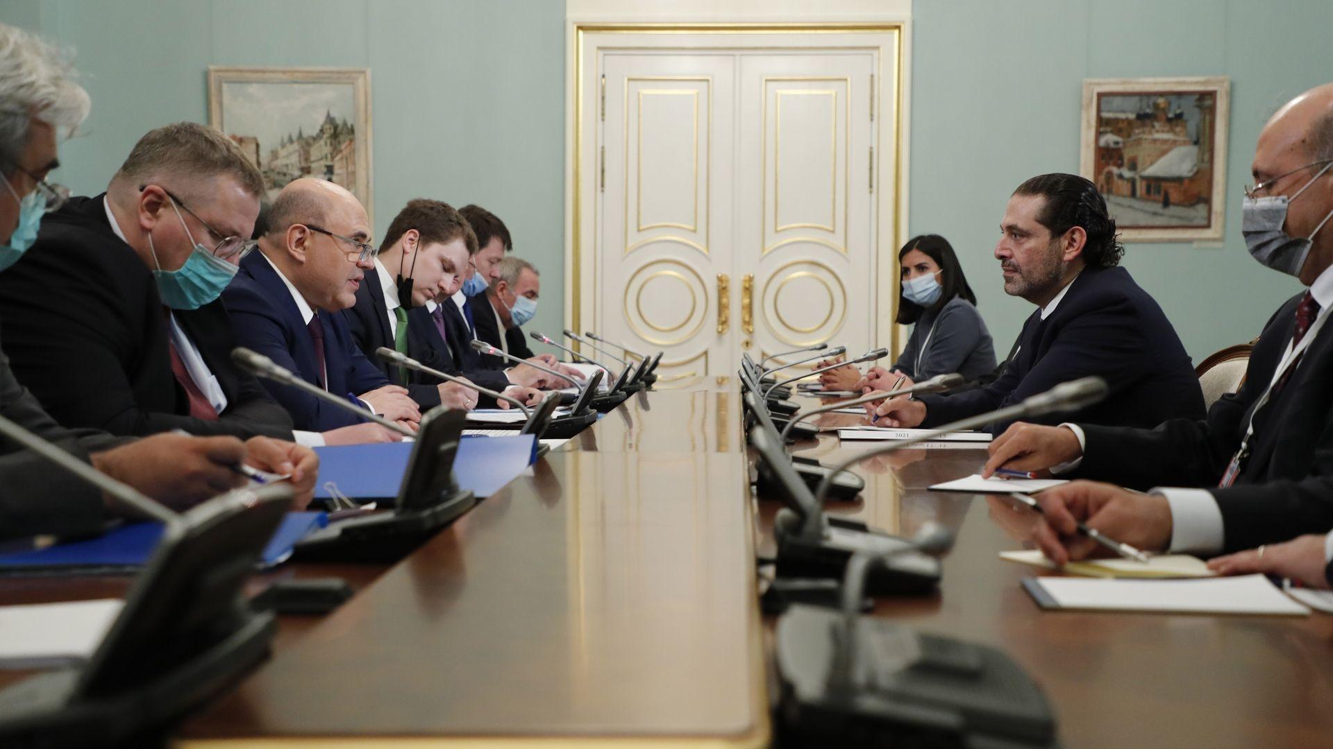 Российско-ливанские переговоры