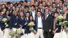 Поздравление победителей и призёров Игр XXXI Олимпиады в Рио-де-Жанейро