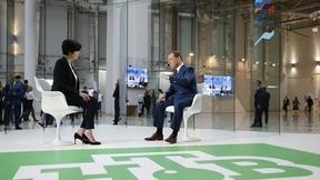 Интервью Дмитрия Медведева телекомпании НТВ