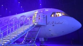 Церемония представления нового пассажирского самолёта МС-21