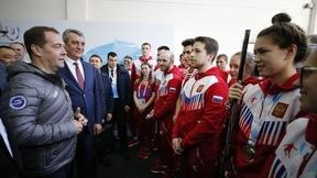 Поездка Дмитрия Медведева в Красноярск