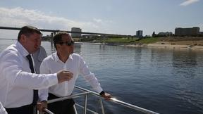 Поездка Дмитрия Медведева в Волгоградскую область