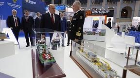 Осмотр выставки «Транспорт России»