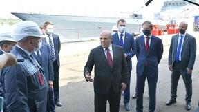 Михаил Мишустин посетил Амурский судостроительный завод