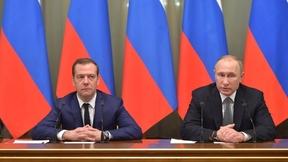 Встреча Президента России Владимира Путина с Правительством