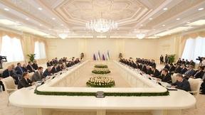 Рабочий визит Дмитрия Медведева в Республику Узбекистан