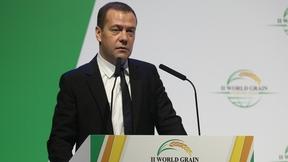 Выступление Дмитрия Медведева на пленарном заседании II Всемирного зернового форума
