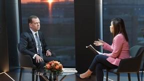 Интервью Дмитрия Медведева телеканалу «Евроньюс»