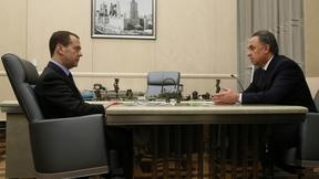 Рабочая встреча с Виталием Мутко