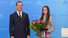 Поздравление победителей и призёров XXIII Олимпийских зимних игр 2018 года в Пхёнчхане