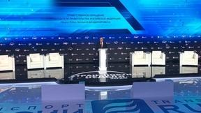 Выступление Михаила Мишустина на пленарной дискуссии «Транспорт России