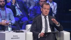 Выступление Дмитрия Медведева на пленарном заседании VII Московского международного форума «Открытые инновации»