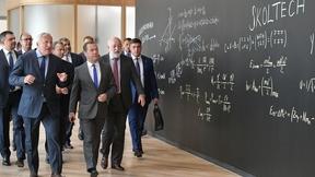 Посещение нового учебного комплекса Сколковского института науки и технологий