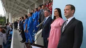 Церемония открытия чемпионата России по лёгкой атлетике