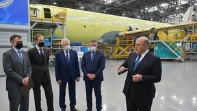Михаил Мишустин посетил Иркутский авиационный завод