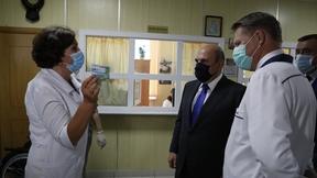 Михаил Мишустин посетил поликлинику Курильской центральной районной больницы