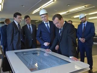 Посещение ЗАО «Невский завод» в Санкт-Петербурге