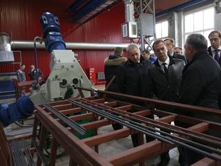 Поездка Дмитрия Медведева в Пермский край