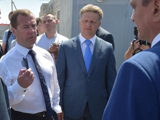 Поездка Дмитрия Медведева в Крымский федеральный округ