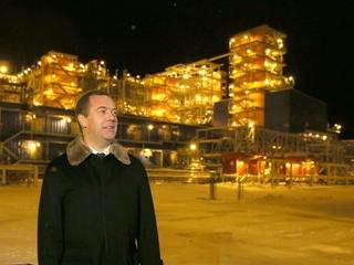 Поездка Дмитрия Медведева в Ямало-Ненецкий автономный округ. Запуск проекта «Ямал СПГ» на полную мощность