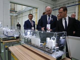Поездка Дмитрия Медведева в Челябинскую область