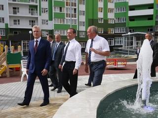 Поездка Дмитрия Медведева в Пензенскую область