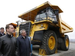 Поездка Дмитрия Медведева в Кемеровскую область