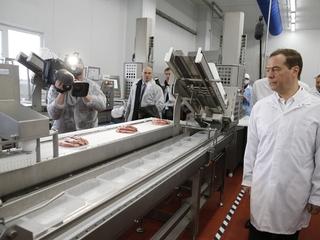 Посещение мясоперерабатывающего предприятия ООО «Тамбовский бекон»