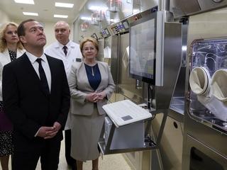 Посещение Онкорадиологического центра Московского областного онкологического диспансера