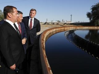 Поездка Дмитрия Медведева в Астраханскую область