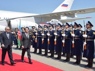 Официальный визит Дмитрия Медведева в Азербайджанскую Республику