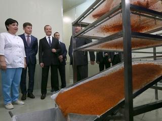 Поездка Дмитрия Медведева в Сахалинскую область