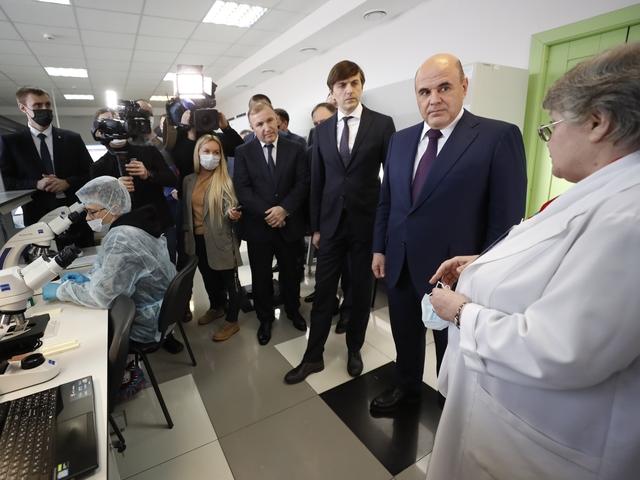 Михаил Мишустин посетил региональный центр поддержки одарённых детей «Полярис-Адыгея»