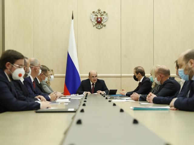 Рабочая встреча Михаила Мишустина с производителями вакцин от коронавирусной инфекции