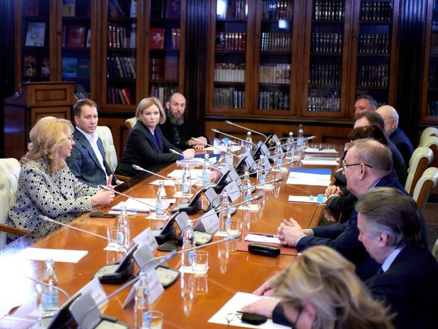 Татьяна Голикова встретилась с деятелями культуры и искусства