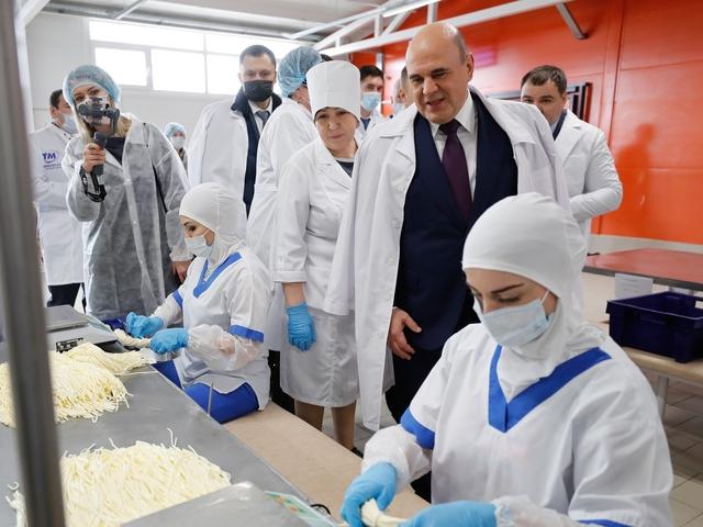 Встреча Михаила Мишустина с аграриями и предпринимателями Адыгеи