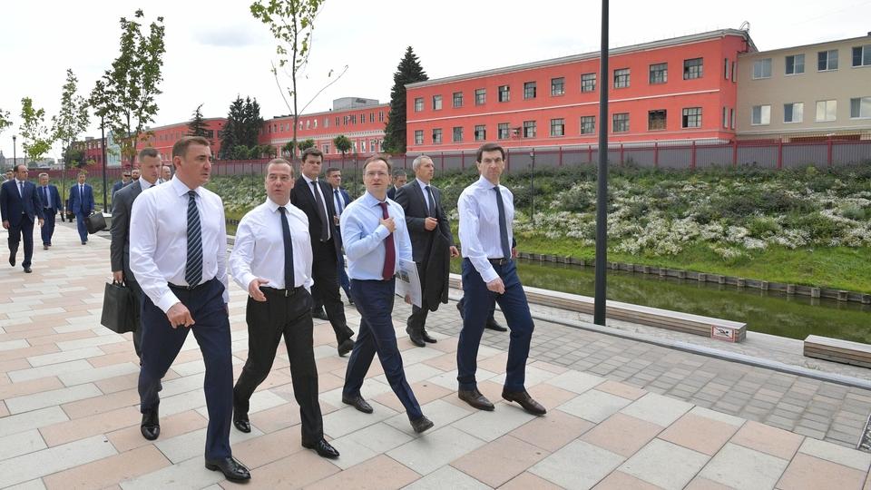 Поездка Дмитрия Медведева в Тульскую область