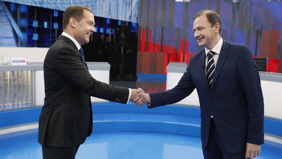 Дмитрий Медведев ответил на вопросы программы «Вести в субботу»