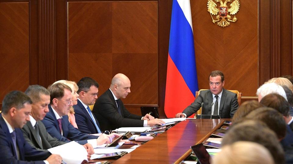 Вступительное слово Дмитрия Медведева на заседании президиума Совета по стратегическому развитию и национальным проектам